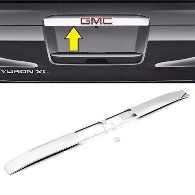 Gmc Yukon Tailgate Handle (For 2015-2019 GMC Yukon+XL Chrome Upper Liftgate Tailgate Handle Cover Trim )