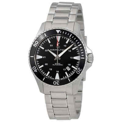 Hamilton Khaki Navy Automatic Black Dial Men's Watch H82335131