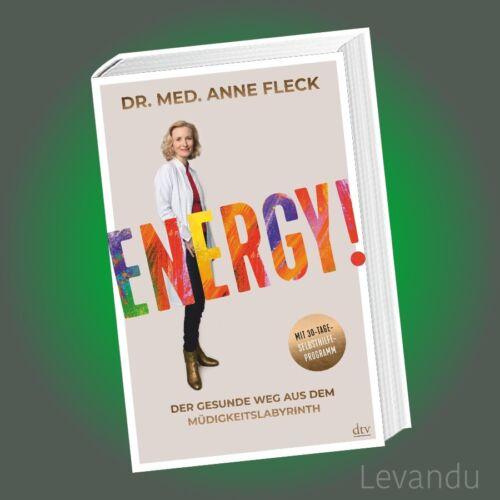 ENERGY! | ANNE FLECK | Gesundheit - Immunsystem - Ernährung - Bestseller - NEU