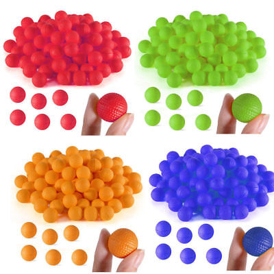 100pcs Rounds For Nerf Rival Zeus Apollo Refill Balls Toys Compatible Gun Bullet