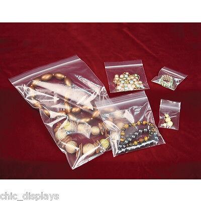 Ziploc Bags Zipper Bags Jewelry Bag Reclosable Clear Bag Poly Bag 2-mil 1001000