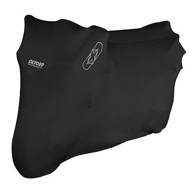 Oxford Protex Premium Stretch Motorcycle Cover Indoor Motorbike Dust Medium New