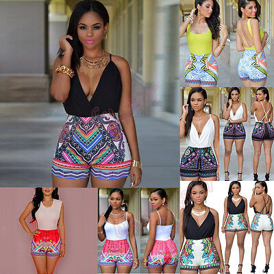 NEW Women Ladies Summer Playsuit Clubwear Bodycon Party Jumpsuit Romper Trousers