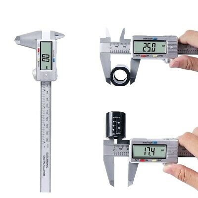 Digital Caliper Vernier Micrometer Electronic Ruler Gauge Meter 150mm 6inch New