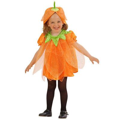 T KINDER Halloween Karneval Fasching Party Kleid Mädchen  4924 (Kürbis Kostüm Halloween)