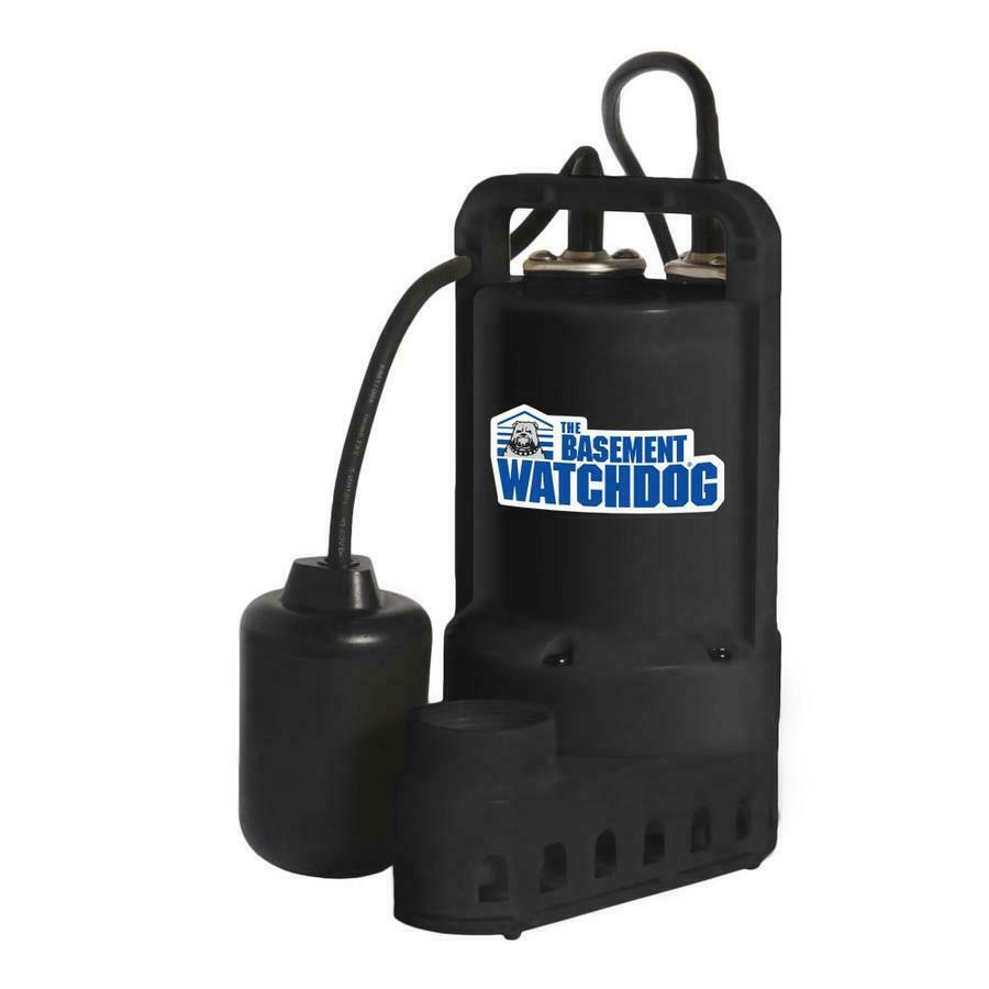 The Basement Watchdog Professional Primary A/C Sump Pump 1/2