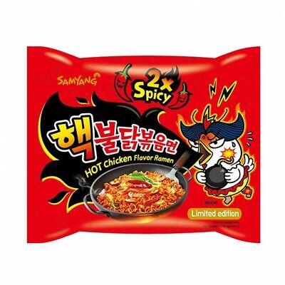 5 X Samyang Nuclear Hot Spicy Ramen Noodles  Korean Buldak Bokeum 2XSpicy Re