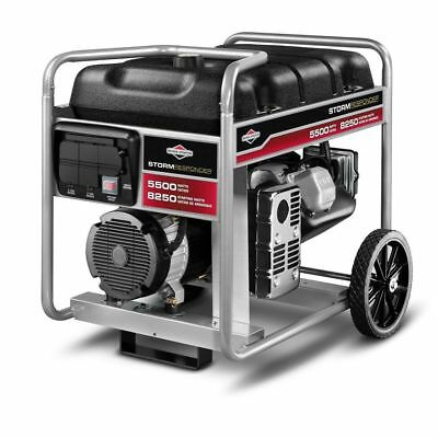 BRIGGS & STRATTON Portable Generator 5500 watts 8250 Starting Watts Model 030430