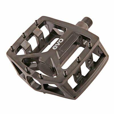 EVO Freefall Sport Resin BMX//Platform Bicycle Pedals 9//16 Black Unknown