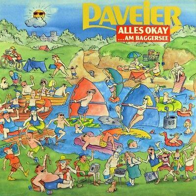 "7"" DE PAVEIER Alles okay am Baggersee WOLFGANG PETRY Karneval EMI 1989 NEUWERTIG"