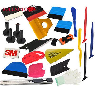 PRO 3M Car Wrapping Tools Vinyl Squeegee Gasket Micro Scraper Window Tint Kit