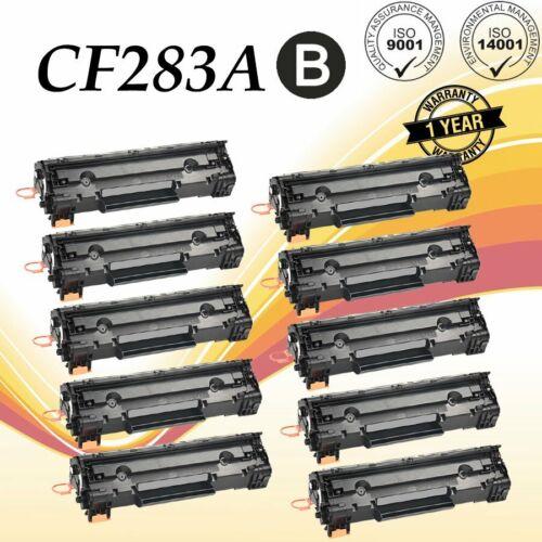 10 Bk 83A CF283A Compatible Toner Cartridge For HP Laserjet M125nw M127fw M127