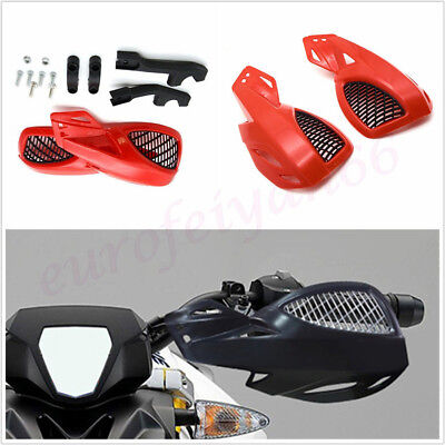 HIGH QUALITY ROBUST PLASTIC 22MM MOTORBIKE HANDLEBAR GUARD WITH MOUNTI