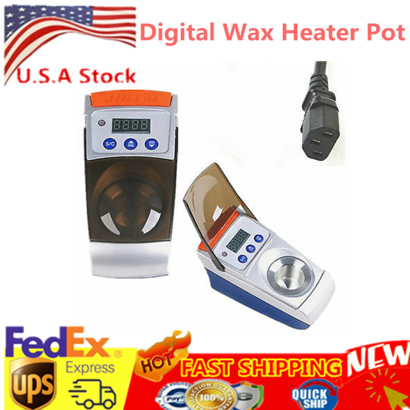 Digital ONE-Well Wax Pot Analog Melting Dipping Heater Melter Lab Equibment US