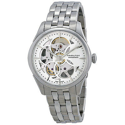 Hamilton Jazzmaster Stainless Steel Ladies Watch H32405111