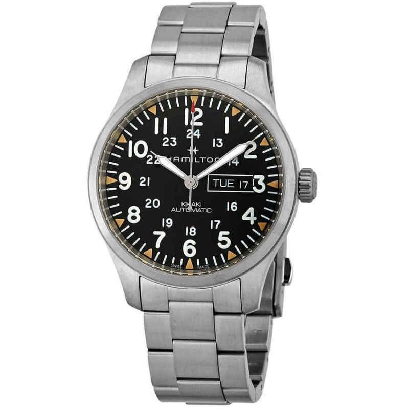 Hamilton-Field-Automatic-Black-Dial-Men-Watch-H70535131
