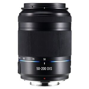 Samsung NX 50-200mm f/4.0-5.6 OIS Zoom Camera Lens - Black (EX-T50200CSBUS)
