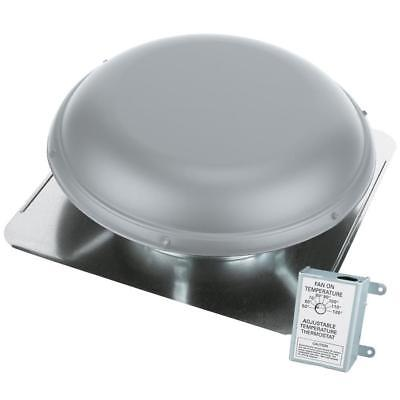 Attic Roof Vents (AIR VENT 53830 Power Roof Mount Attic Vent 1170 CFM With Thermostat New Free)