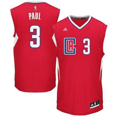 LA Clippers Chris Paul #3 Men's adidas Replica Road Jersey - Size XXL, NWT ()