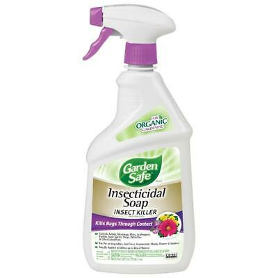 Garden Safe 24-fl oz Insecticidal Soap Insect Killer Ready-to-use Gardening  ()