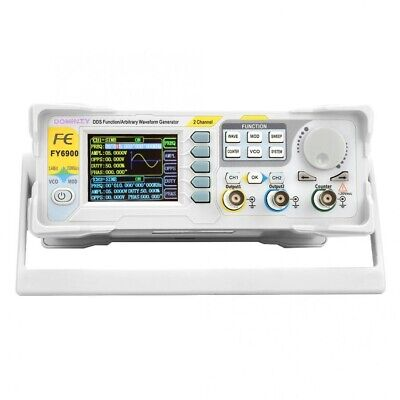 Fy6900 60mhz Function Arbitrary Waveform Pulse Dds Signal Generator 2 Channel