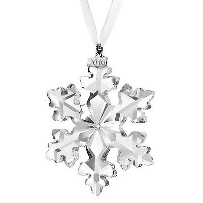 Swarovski Annual Edition 2016 Christmas Crystal Large Ornament #5180210
