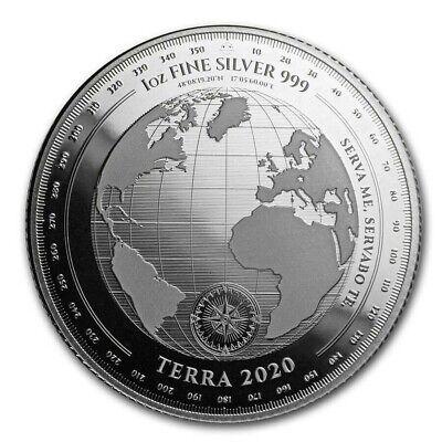 TERRA 2020 - $5 Dollars TOKELAU 2020 1 oz Silver Bullion coin
