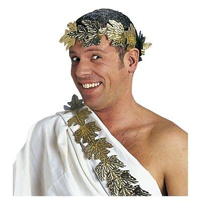 CÄSAR LORBEERKRANZ # Römer Rom Kranz Karneval Fasching Kostüm Party Zubehör - Caesar Kostüm Zubehör