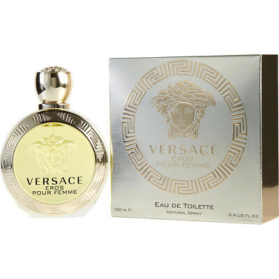 Eros Pour Femme Perfume by Gianni Versace 3.4 oz EDT for Women  Authentic TESTER