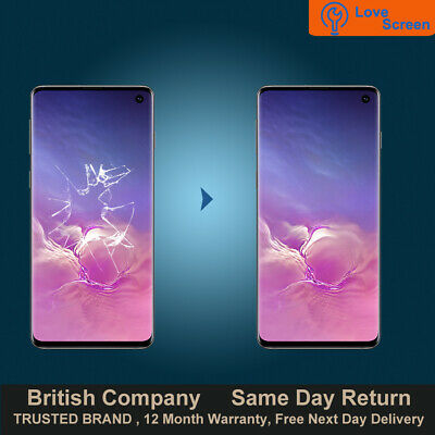 Samsung Galaxy S10 LCD OLED Screen Glass Replacement Service Same day Repair