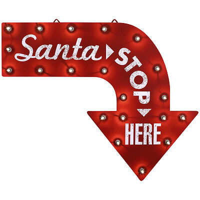 NEW - Gemmy Lighted Holiday Sign Outdoor Christmas Decoration with White LEDs