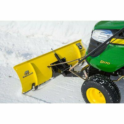 John Deere 46-inch Snow Blade Bg20943 With Chains Weights