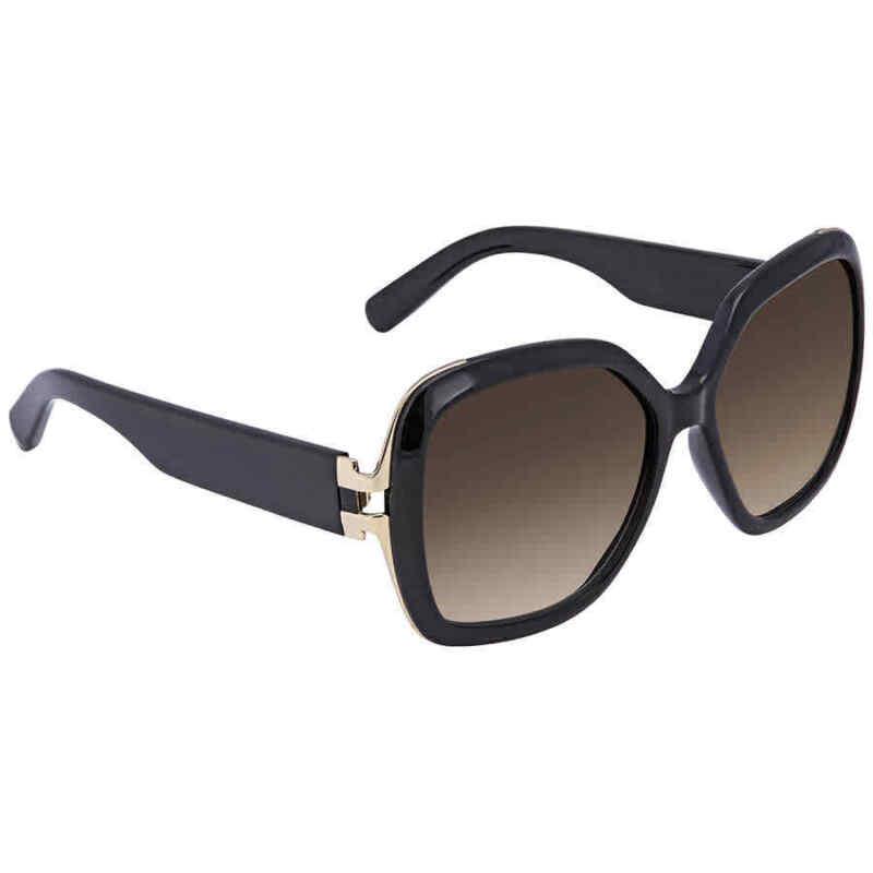 Salvatore Ferragamo Brown Gradient Square Sunglasses SF781S 001 56