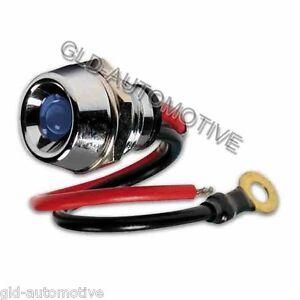 Spia a led BLU 12/24V Illuminazione estetica Luci Interni Auto - Ricambi Fiat