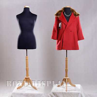 Female Size 14-16 Mannequin Manequin Manikin Dress Form F1416bkbs-01nx