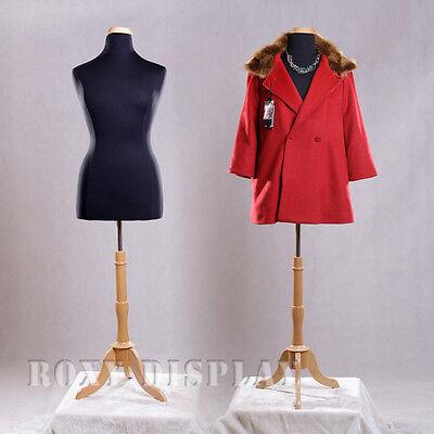 Female Size 14-16 Mannequin Manequin Manikin Dress Form F1416bkbs-01nx