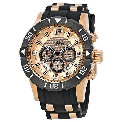 Invicta Pro Diver Chronograph Copper Dial Mens Watch 23711