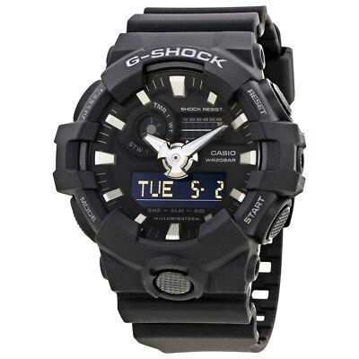 Casio G-Shock Black Resin Mens Watch GA-700-1BCR