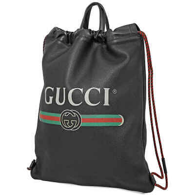 Gucci Printed Leather Backpack 516639 0GCBT 8163