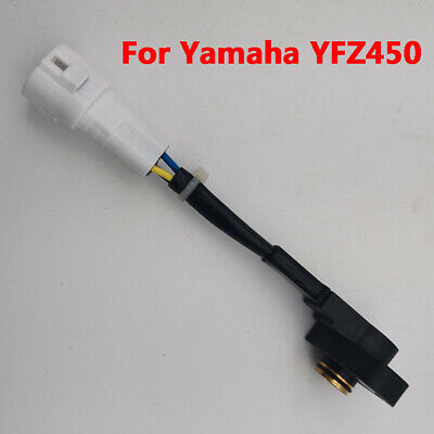 Motorcycle Throttle Position Sensor For Yamaha YFZ450 Carburetor FCR Flat Slide
