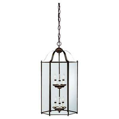 Sea Gull Lighting Six-Light Bretton Hall Foyer in Heirloom Bronze - 5233-782