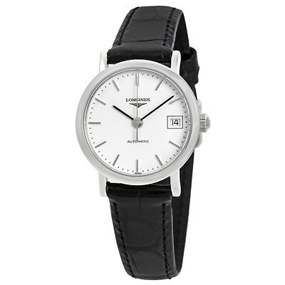 Longines Elegant Automatic White Dial Ladies Watch L4.309.4.12.2
