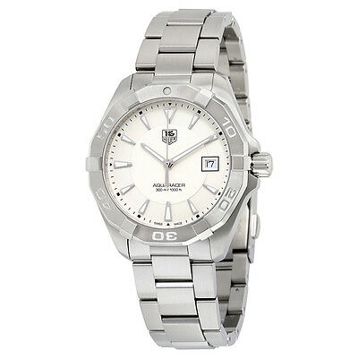 Tag Heuer Aquaracer Silver Dial Stainless Steel Mens Watch WAY1111.BA0928