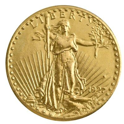 1933 20 Gold Double Eagle ($20 Saint-Gaudens Gold Double Eagle (Cleaned - Random Year) - SKU #9120 )