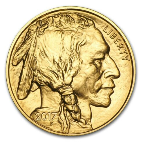 Купить US Mint - 2017 1 oz Gold Buffalo Coin Brilliant Uncirculated - SKU #118011