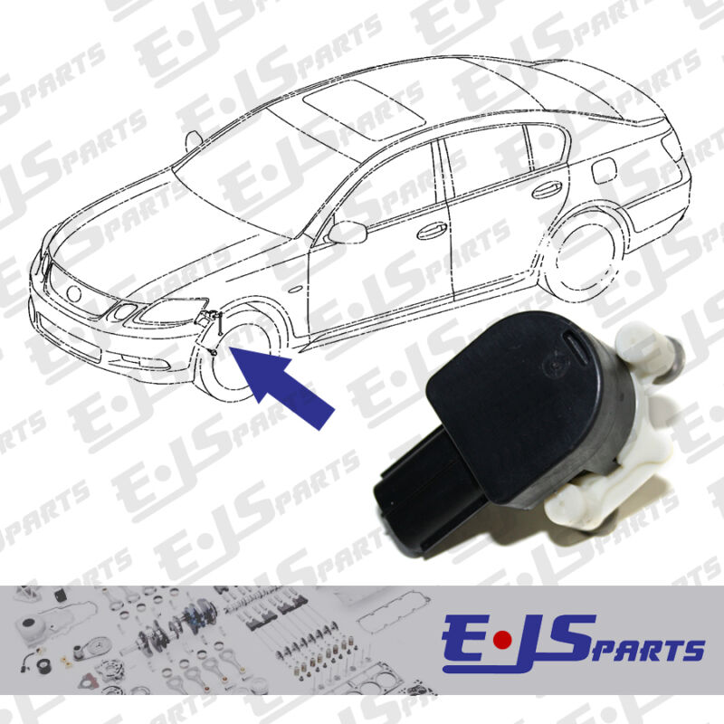 New Genuine Front Suspension Height Sensor for Lexus GS300, 350, 450, 460 05-10