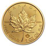 2018 Canada 1 oz Gold Maple Leaf Coin BU - SKU #158647
