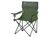 Coleman Quad Chair Green