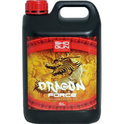 Shogun Dragon Force 5 Litre Flowering Nutrient Feed Hydroponics UK