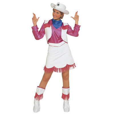 DAMEN COWGIRL KOSTÜM # Karneval Cowboykostüm Cowboy Girl Frau Party Verkleidung